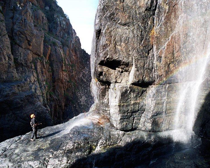 Waterfall in el salto