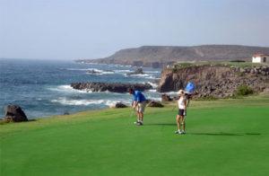 Golfing in baja